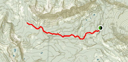 Swampy Pass Trail Map