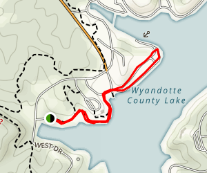 Stoptler Cove Nature Trail Map