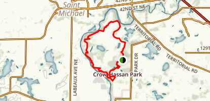 Crow-Hassan Park Reserve Loop Map