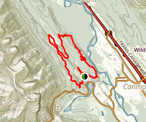 Canmore Loop Trail Map