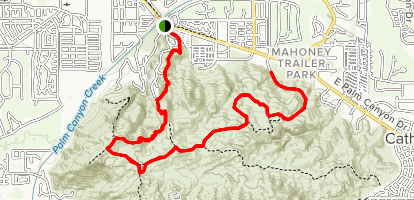 Araby Trail to Goat Trail Map