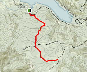 Mears Lake Valley Trail Map
