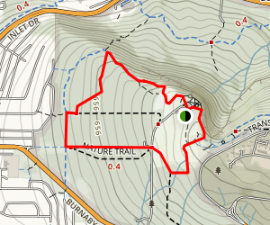Pandora and Trans Canada Loop Trail Map