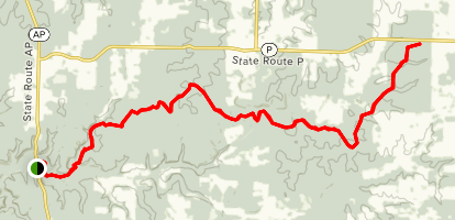 Ridge Runner National Recreation Trail Map