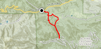 North Cedar Creek Trail Map