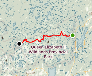 Ganaraska Hiking Trail: Devil's Lake to Black River Road Map