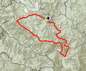 Timber Ridge Loop Trail Map