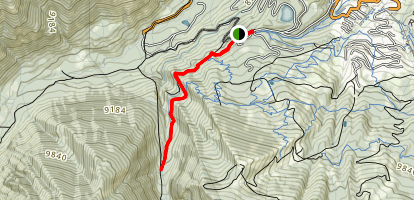 Ditch Trail Map