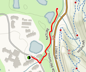 Brush Creek Nature Trail Map