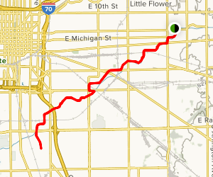 Pleasant Run Trail Map