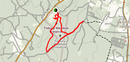 Tisbury Meadow Preserve Loop Map