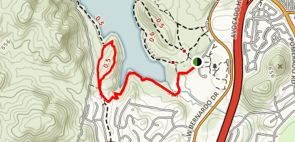 Piedras Pintadas Interpretive Trail Map