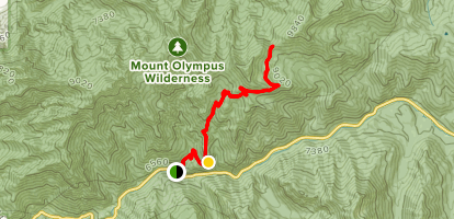 Mill B North Fork Trail Map