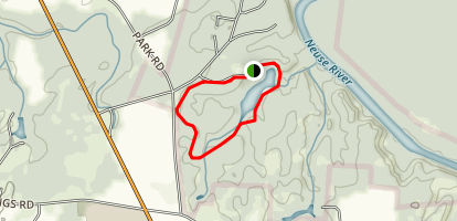Cliffs of the Neuse Lake Trail Map