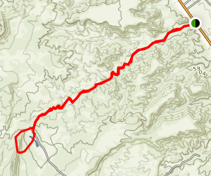 Window Rock Trail Map