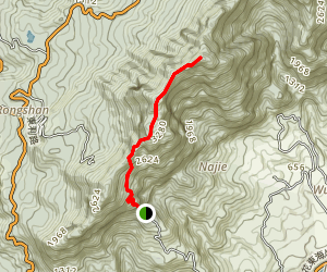 Dulan Shan Trail Map