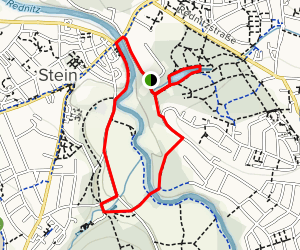 Fürth County Tour 14: Adventure Family Loop in Stein Map