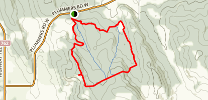 Brown Lowery Provincial Park Perimeter Loop Map