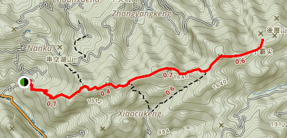 Palace of the Emperor (Huangdidian) Trail Map