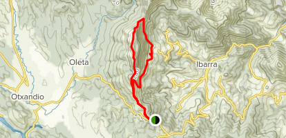 Gantzaga, Drixol, and Santikurtz Trail Map