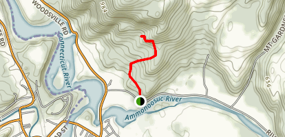 Mount Gardner Lone Oak Trail Map