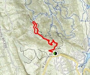 South Ridge and Audra Culver Map
