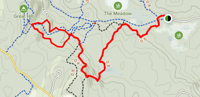 Nottingcook Forest Loop Trail Map