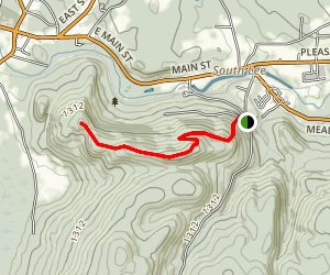 Beartown Mountain to Laura's Tower Map