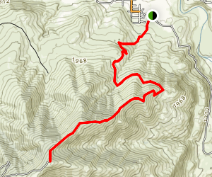 Chelan Butte Trail Map