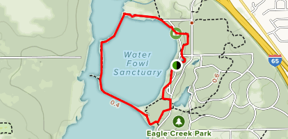 South Overlook Waterfowl Sanctuary Trail Map