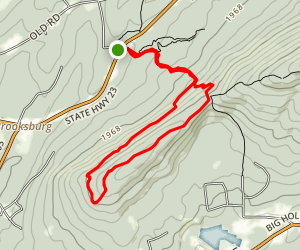 Elm Ridge Trail Loop Map