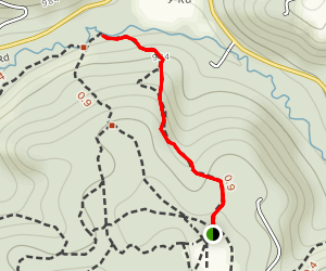 Gas Well Path Map