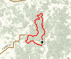 Ferdinand State Forest Loop Map