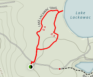 Lake Lacawac Trail Map