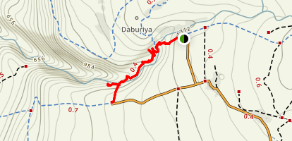 Gilabun Stream Trail Map