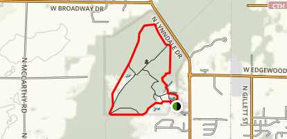 Bubolz Nature Preserve Map