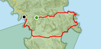 Wilson's Prom Trail Map