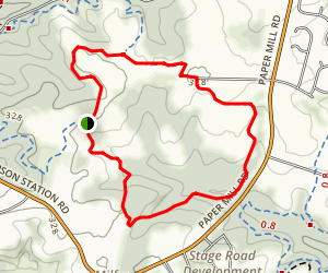 Bryan's Field Trail Map