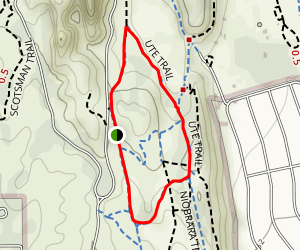 Ute Trail Map