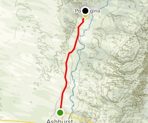 Pohangina Valley Scenic Drive Map