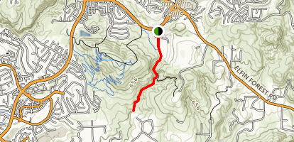 Copper Creek Trail Map