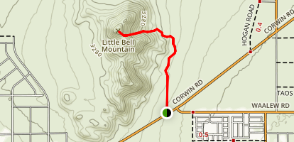 Little Bell Mountain Map