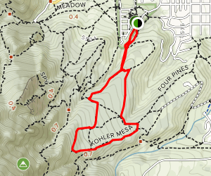 Woods Quarry Loop Trail Map