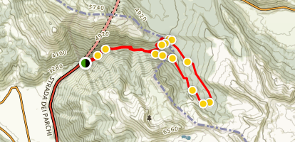 Amara Valley, Asino Valley and Campetelli Map
