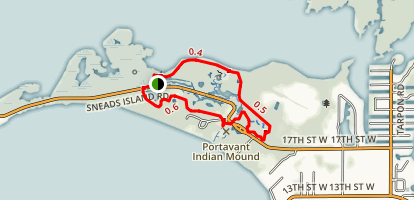 Emerson Point Park Loop Trail Map