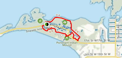 Tierra Ceia Trail and South Restoration Trail Loop Map