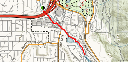 Old Mill Bike Path Map