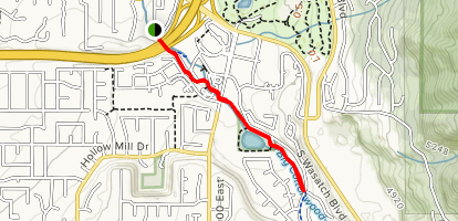 Old Mill Bike Path [CLOSED] Map