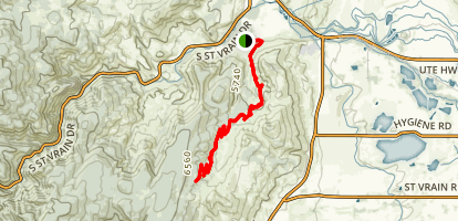 Picture Rock Trail Map