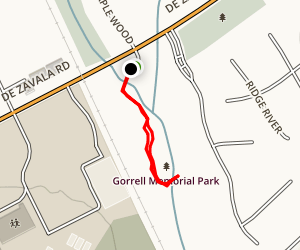 Gorrell Park Trail Map